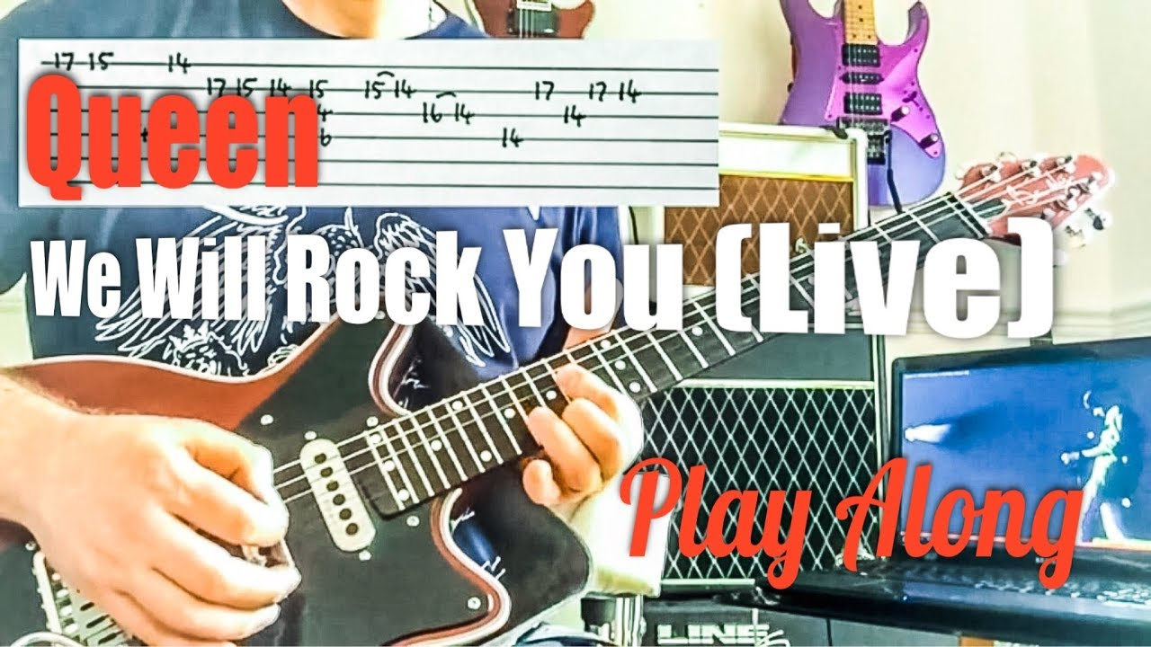 We Will Rock You Spiel