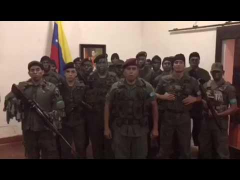 Rebelión en Venezuela: un muerto, un herido y 7 detenidos