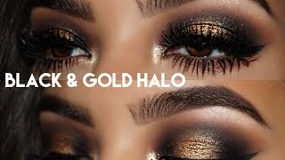 NEW YEARS MAKEUP TUTORIAL! || Huda Beauty Rose Gold Palette
