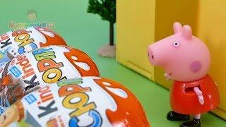 Мультфильм для детей на русском как Денни поздравлял Свинку Пеппу с 8 Марта. Давайте смотреть вместе