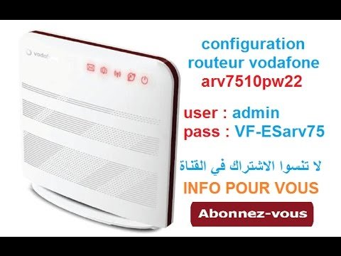 flash routeur vodafone hg556a