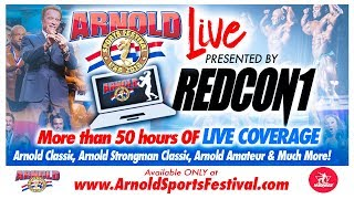 2018 Arnold Classic & Arnold Strongman Finals