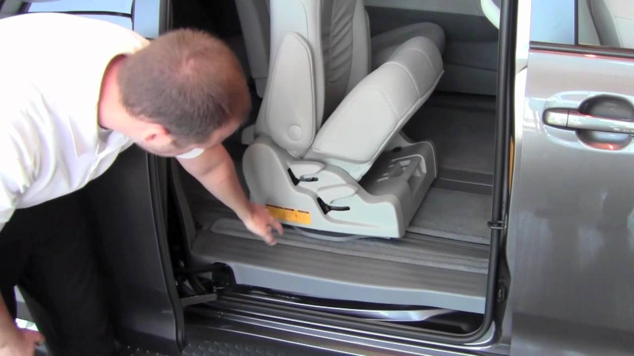 2011 Toyota Sienna 2nd Row Seat Removal How To By