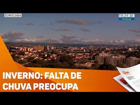 Inverno: falta de chuva preocupa - TV SOROCABA/SBT