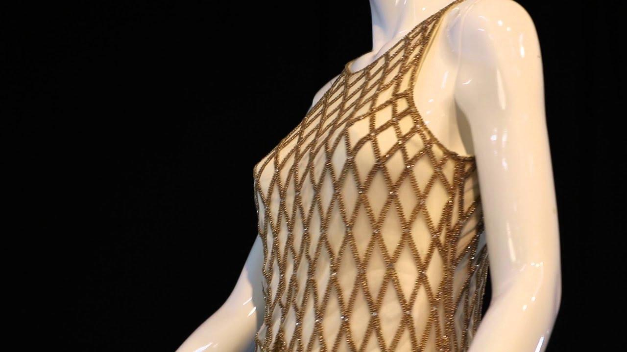 Whitney Houston Bob Mackie Dress - YouTube