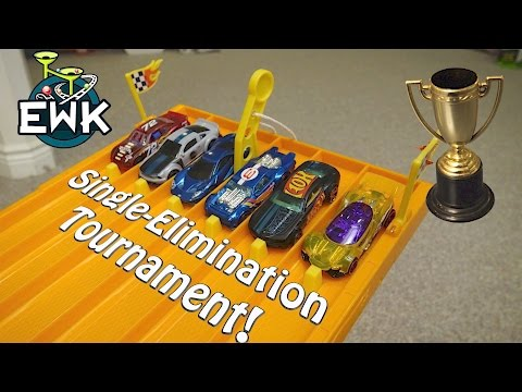 16 Car Hot Wheels Single Elimination Tournament! (70,000 sub special)