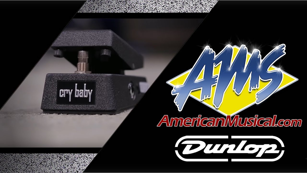 Dunlop Cbm95 Crybaby Mini Wah Pedal Dunlop Crybaby Youtube