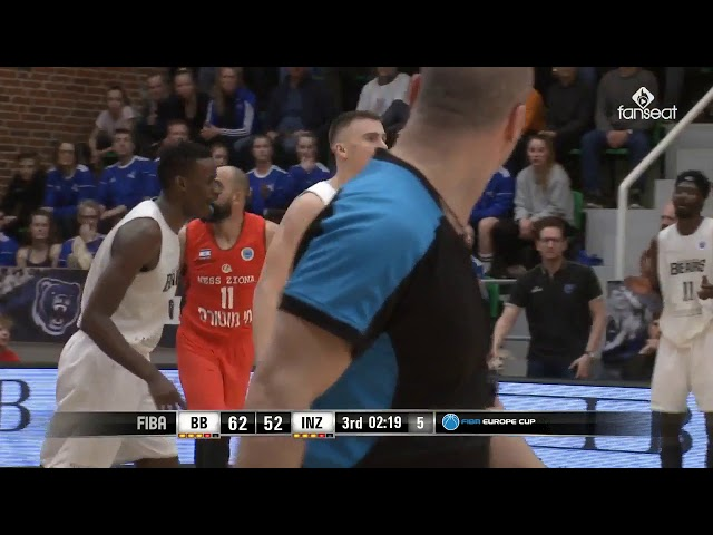 Highlights fra Bakken Bears vs. Ironi Ness Ziona