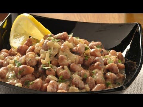 Fava Beans in Tahini Sauce