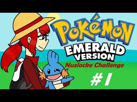 Новый тренер отправляется в приключение/Pokémon Emerald:Nuzlocke Challenge/#1