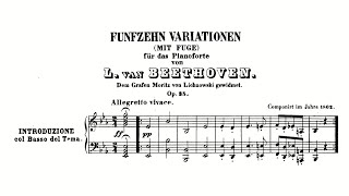 Beethoven: Variations and Fugu…