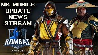 Mortal Kombat Mobile Update News. New Character Reveal + MK Mobile Update Sneak Peak!