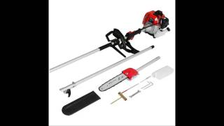 Maxtra 42.7CC 2-Stroke 1.5HP 1100W Gas Pole Chainsaw Pruner Trimmer with Adjustable Length