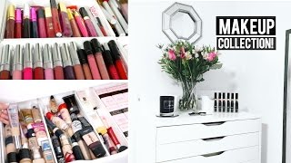 Makeup Collection & Inexpensive Storage! | thataylaa
