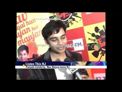 Punjabi Celebrity Nav Bajwa turns RJ