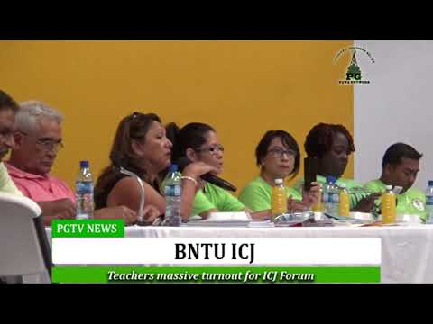 BNTU ICJ Forum Belmopan City, Belize
