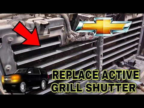 Download HOW TO REPLACE ACTIVE GRILL SHUTTER ASSEMBLY (CHEVROLET TAHOE 2017)