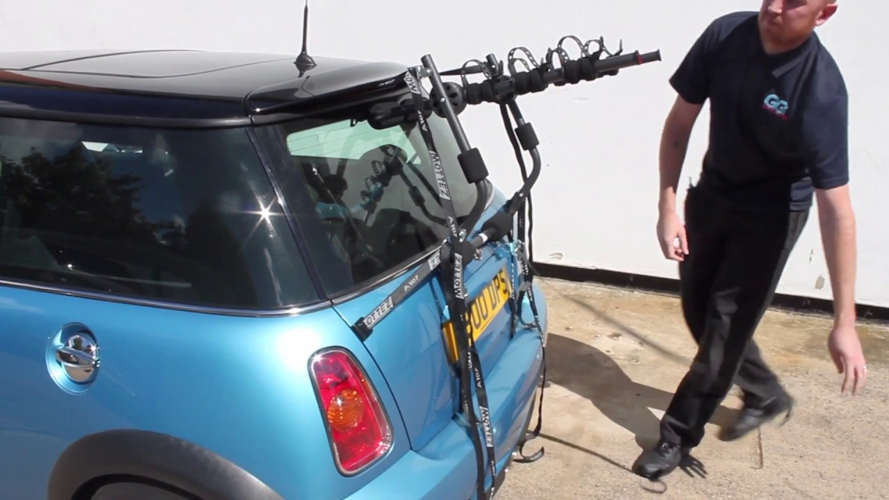 mini cooper s bike rack