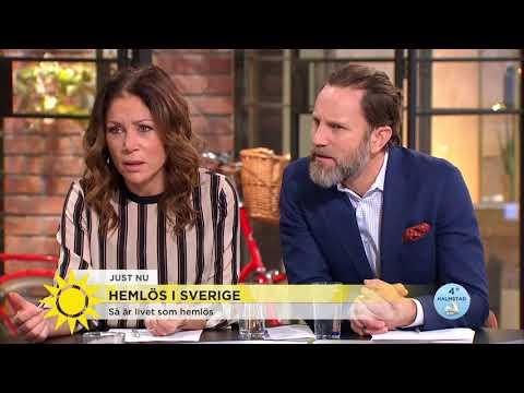Hemlös i Sverige - Nils jobbade fram till 61 nu lever på gatan - Nyhetsmorgon (TV4)