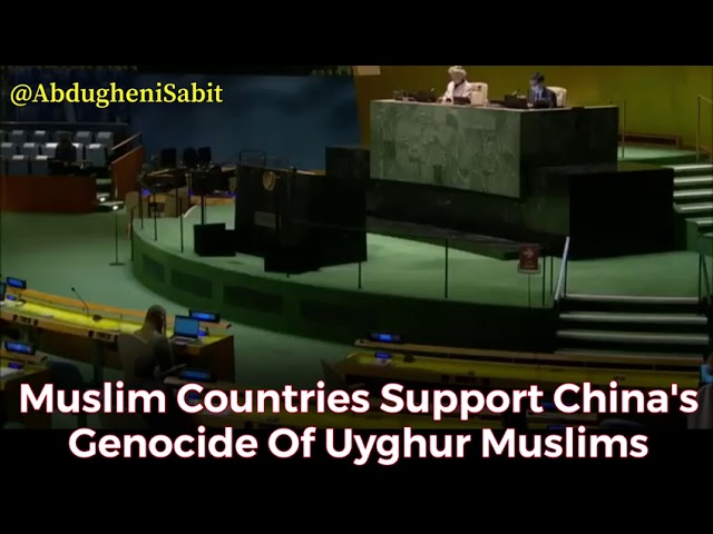 Muslim Countries Support China's Genocide Of Uyghur Muslims
