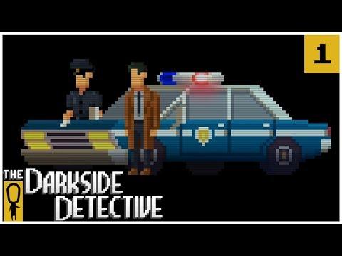 The Darkside Detective EP. 1 - MCQUEEN AND DOOLEY - Lets Play The Darkside Detective Gameplay