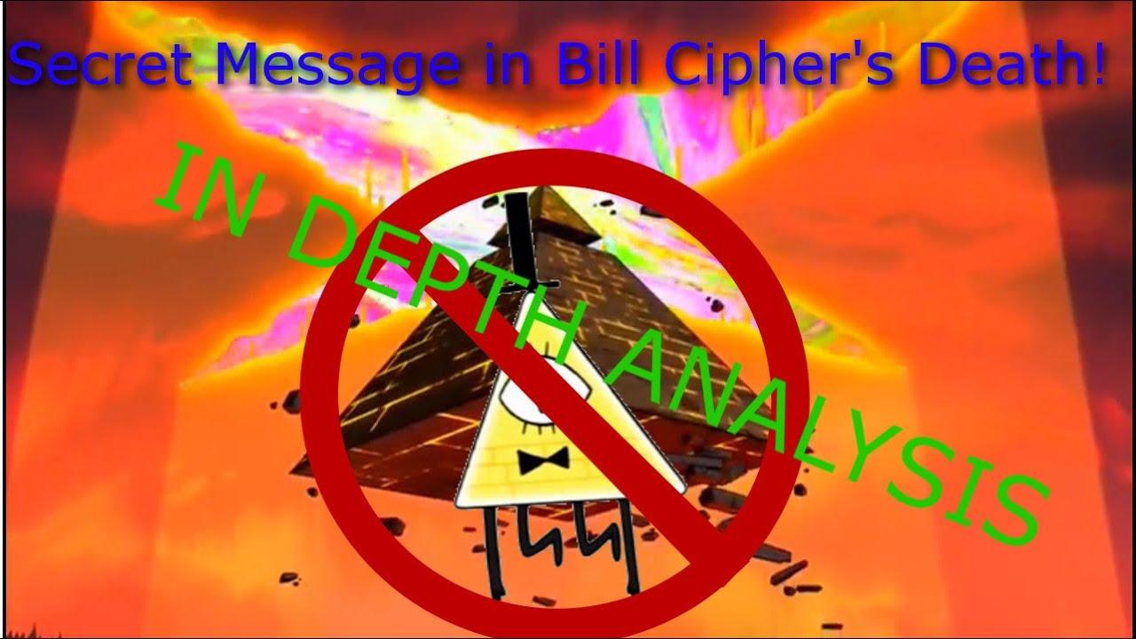 Spoilers Bill Cipher Death Secret Message