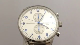 holuns chronograph stainless steel quartz wrist watches