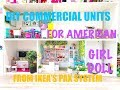 DIY Commercial Units for American Girl Doll using the PAX system