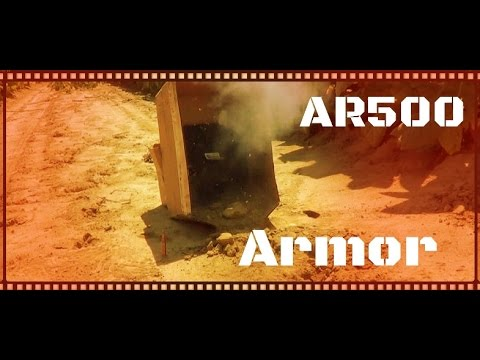 AR500 Armor Level III Plate Body Armor Test And Review (HD)