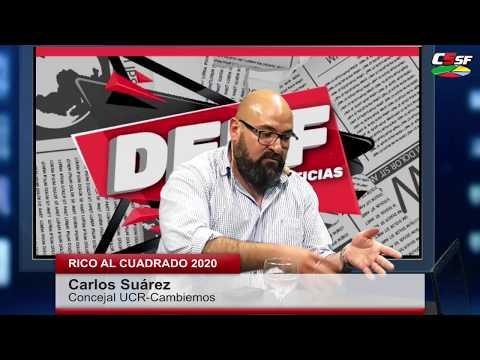 Carlos Suárez: Integrar no es poner todo donde más falta