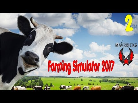 Farming Simulator 17 Let's Play Maverick Farms Seasons Mod Ep 2