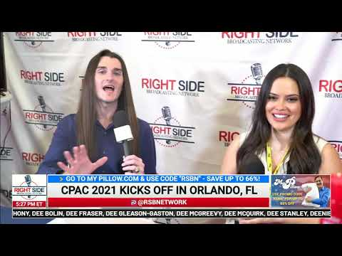 ? RSBN Interview with Scott Presler at CPAC 2021 2/25/21