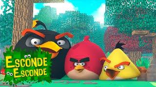 Minecraft: ANGRY BIRDS - O FILME! (Esconde-Esconde)
