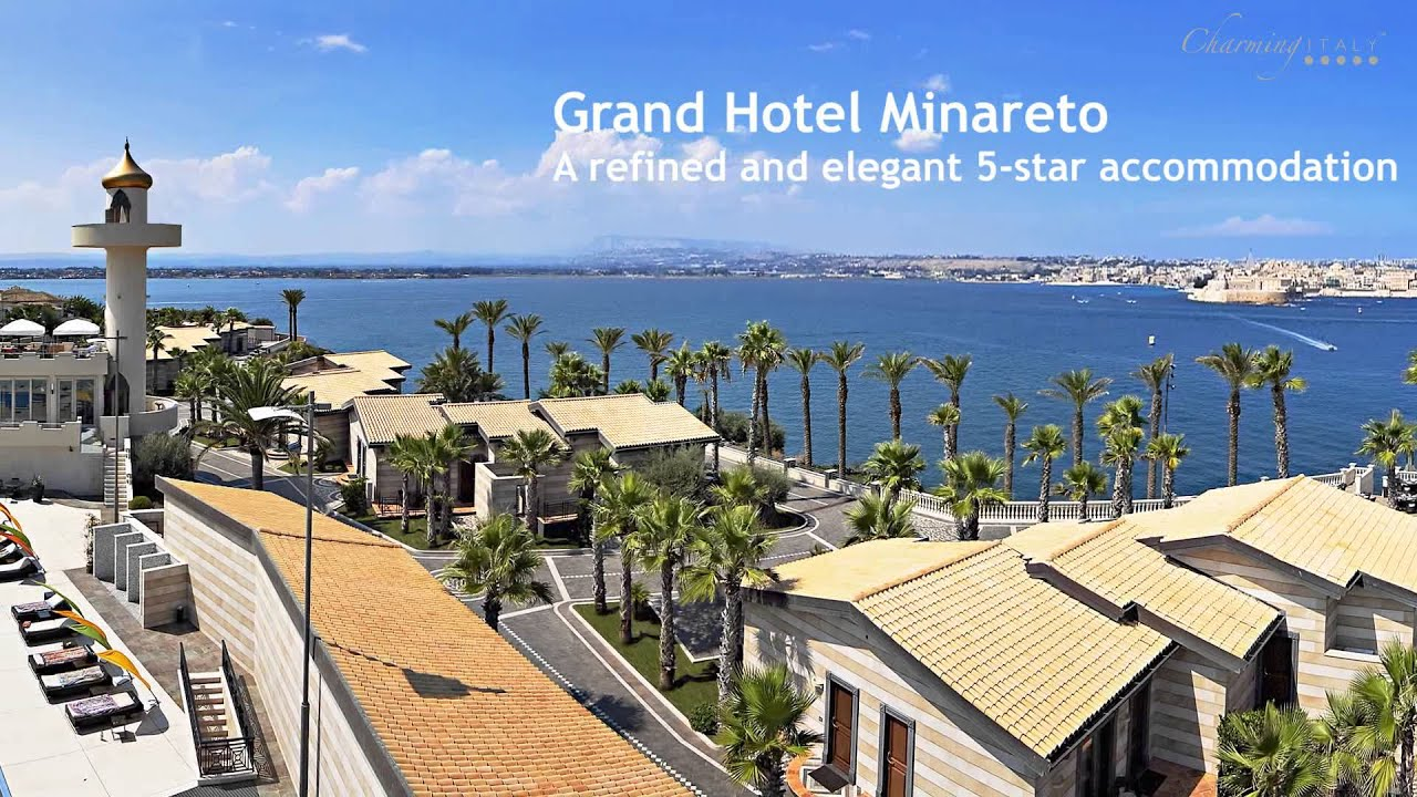 Grand hotel minareto luxury hotel in syracuse sicily for Grand hotel siracusa