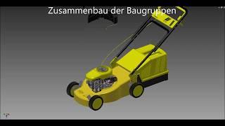 Rasenmäher mit 4-Takt-Motor