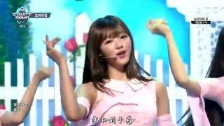 [中字]160526 Oh My Girl - Windy Day @ MCD Comeback Stage