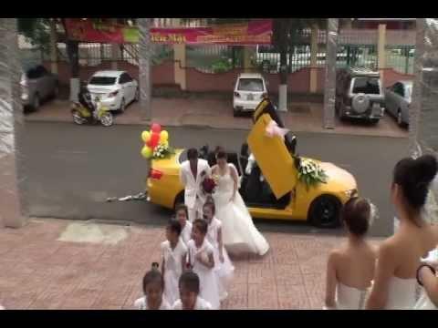 Tiệc cưới tại Buôn Ma Thuột - Video Tiệc cưới đẹp tại Wedding Palace.