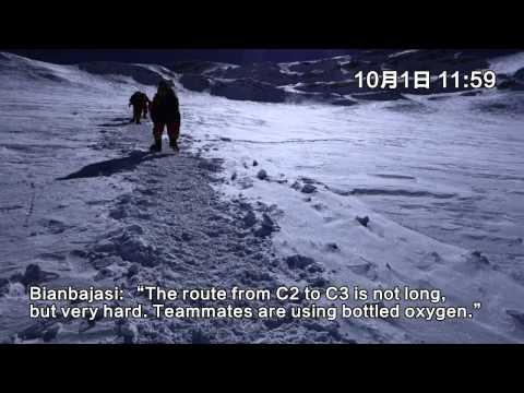 Climbing Mt. Cho Oyu in 2014