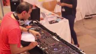 Alchemy Festival Charity Shop DJ - Omer Tariq playing Pakistani Music