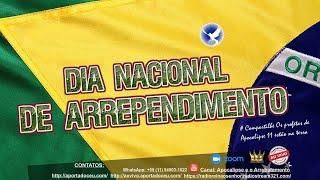 29/10/2020 |  ARREPENDIMENTO NACIONAL - ARREPENDE-TE  BRASIL