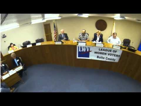 League of Women Voters Butte County Candidate Forum