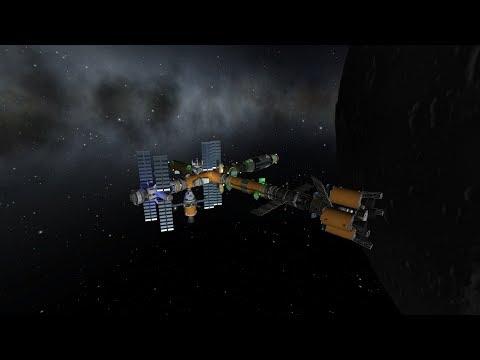 KSP Live #17- Career Mode -Finishing Mun Refueling Station !