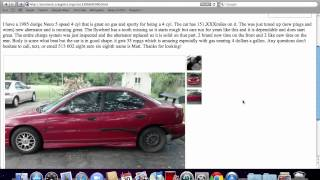 Craigslist Cincinnati Ohio Used Cars - For Sale by Owner Options on Trucks and Vans