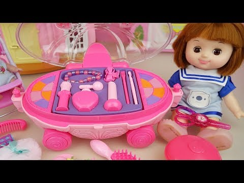 Thumbnail: Baby doll beauty car hair shop toys baby doli play