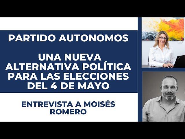 Cómo es el partido de los autónomos de Madrid | ENTREVISTA A MOISÉS ROMERO.