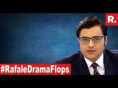 Nirmala Smashes Rafale Charges | The Debate With Arnab Goswami