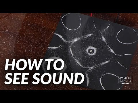 How to See Sound with Steve Spangler on 9News