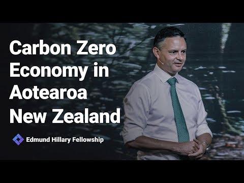 Carbon Zero Economy in Aotearoa New Zealand - Hon James Shaw at New Frontiers 2019