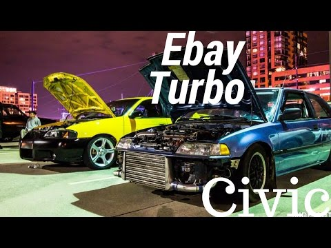 Ebay Turbo Honda Civic B18 - YT