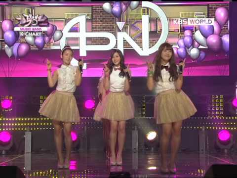 [Music Bank K-Chart] A Pink - My My (2011.11.25)